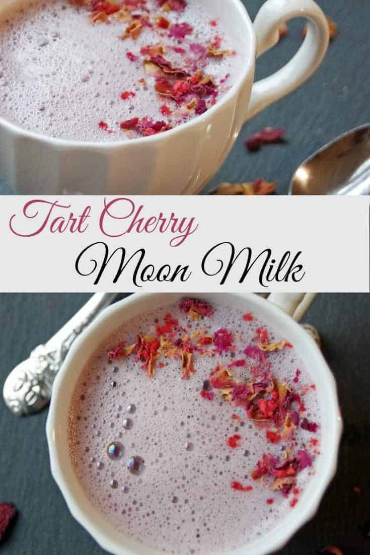 Tart Cherry Moon Milk Recipe for Relaxation and Better Sleep