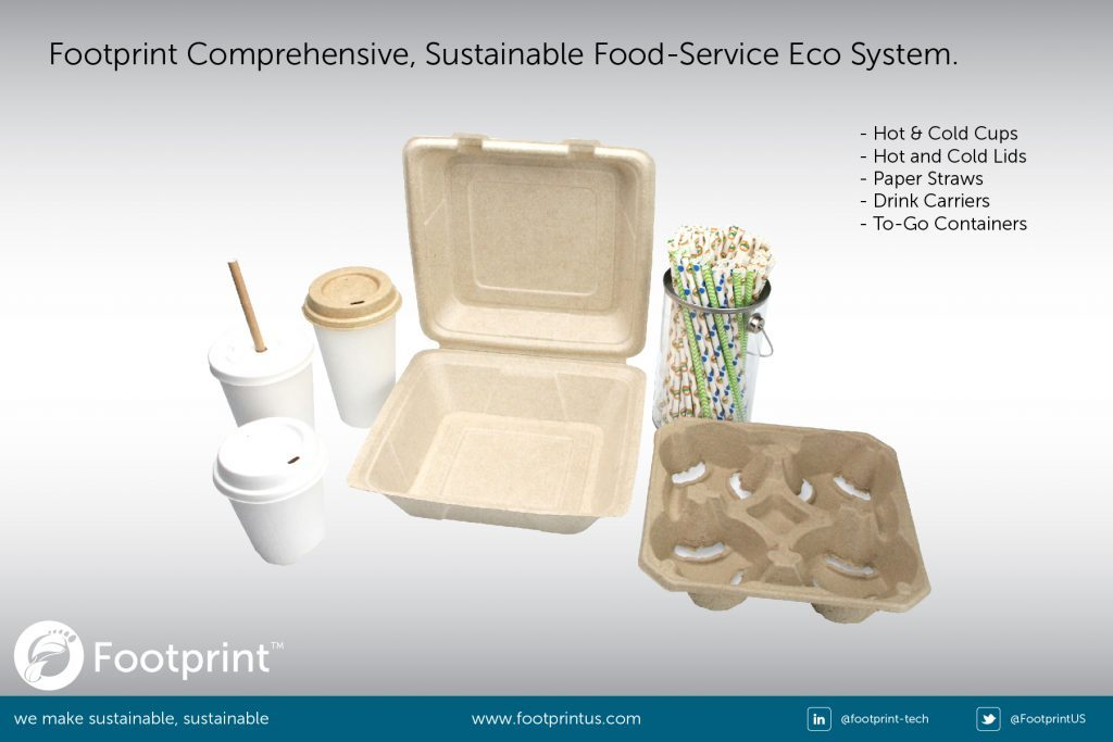alternatives to plastic for straws and food containers