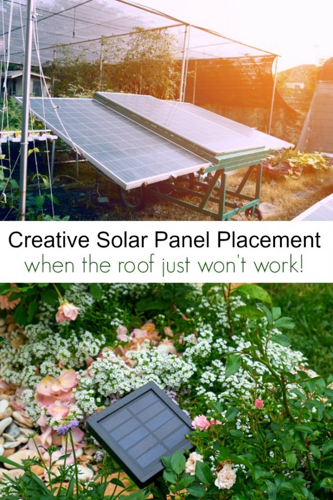 Creative Solar Panel Placement Ideas When the Roof Just Won't Work!