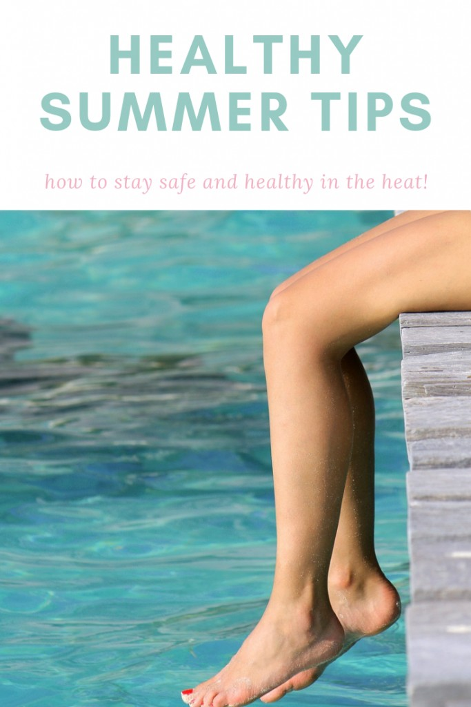 Learning how to stay healthy in the summer is important. Whether it is staying hydrating or protecting skin from sunburns, remember these summer tips when the temps climb higher and the sun gets stronger!