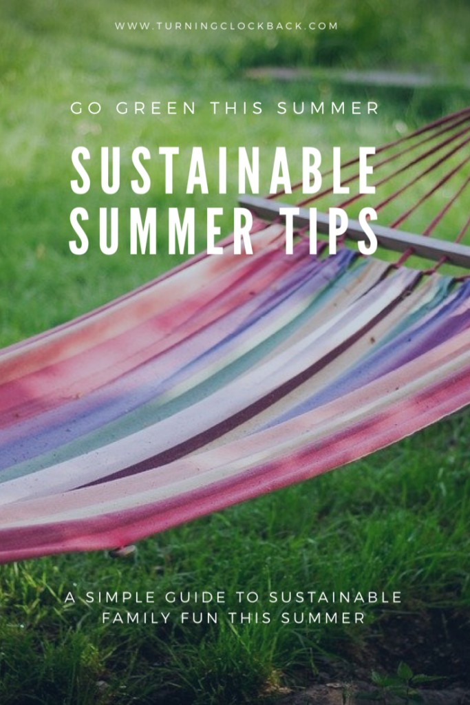 Sustainable summer tips for families