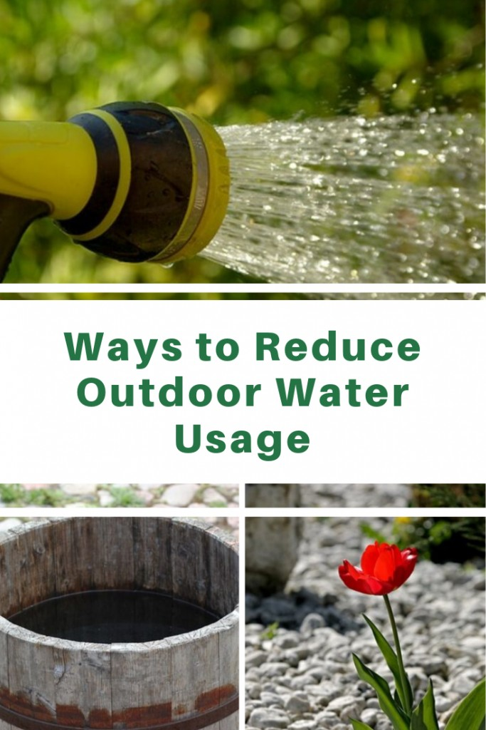 Ways to Reduce Outdoor Water Usage using smart watering techniques, rain barrel and xeriscaping