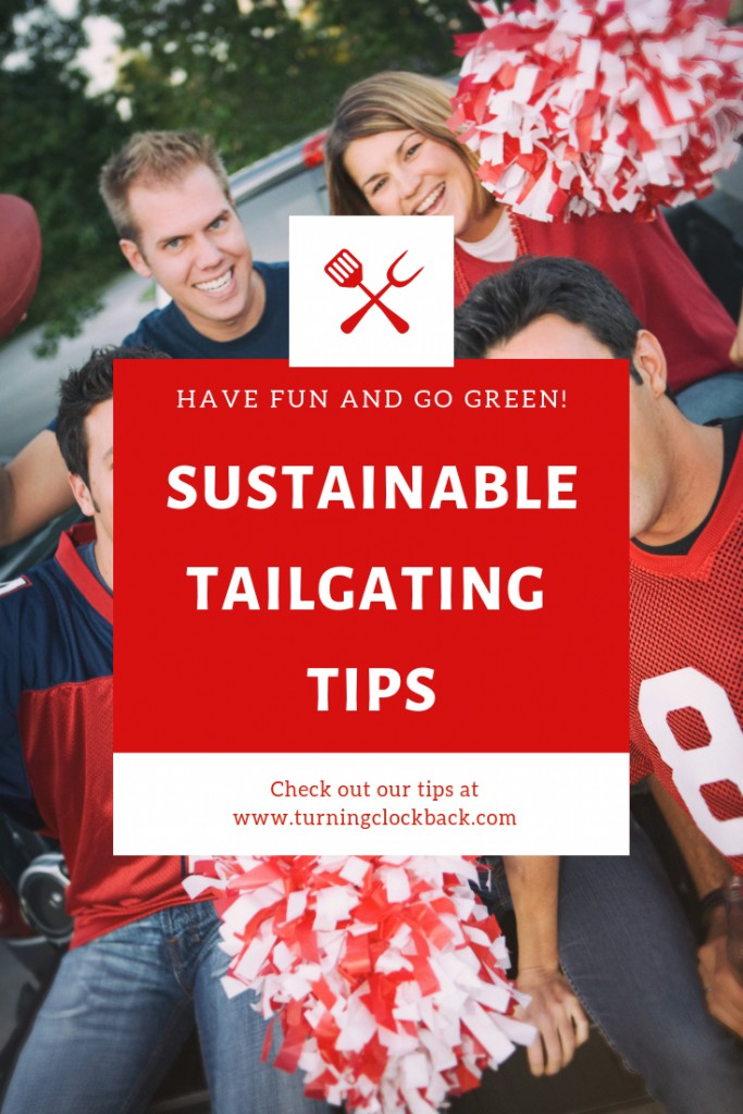 Group of People in Football shirts indicating Sustainable Tailgating Party Ideas for a Greener Football Season