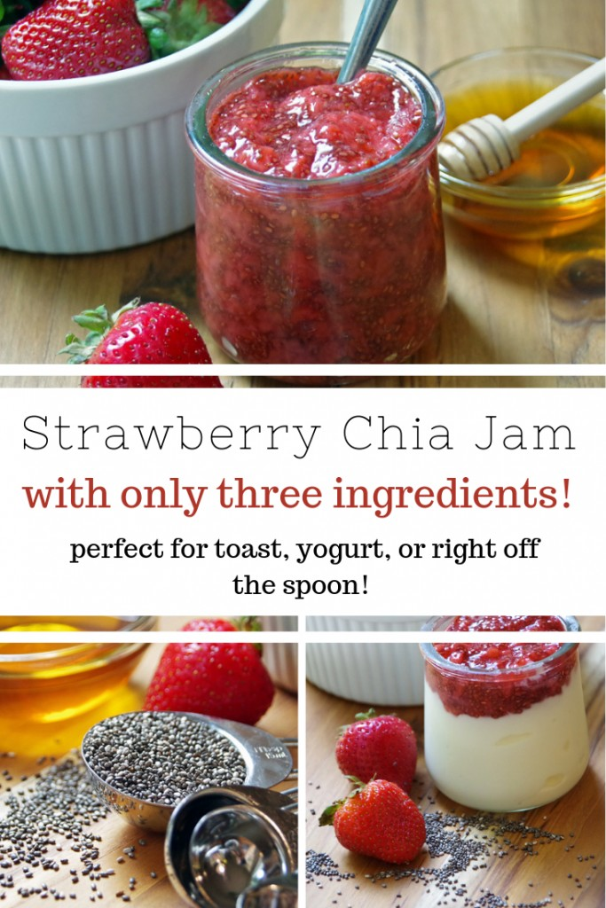 Strawberry Chia Jam Recipe