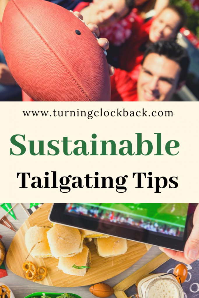 Want to throw an eco friendly tailgating party? Try these sustainable tailgating party ideas and have a green football celebration!
