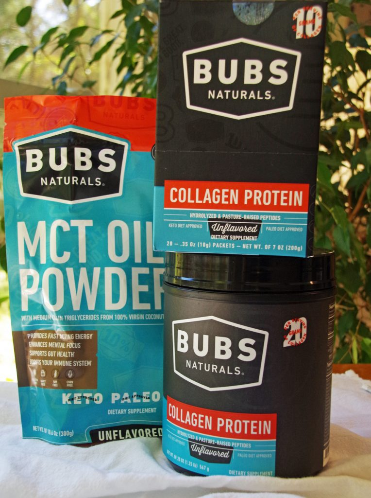 BUBS collagen and MCT oil powder