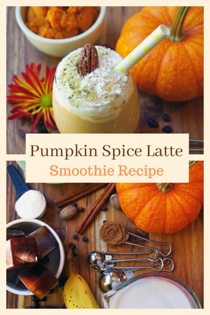Pumpkin Spice Latte Smoothie Recipe