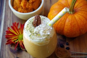 Pumpkin Spice Latte Smoothie with Collagen