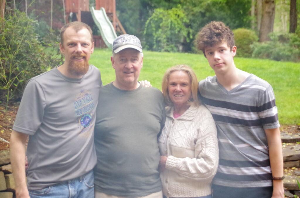 3 generation photo including grandparents