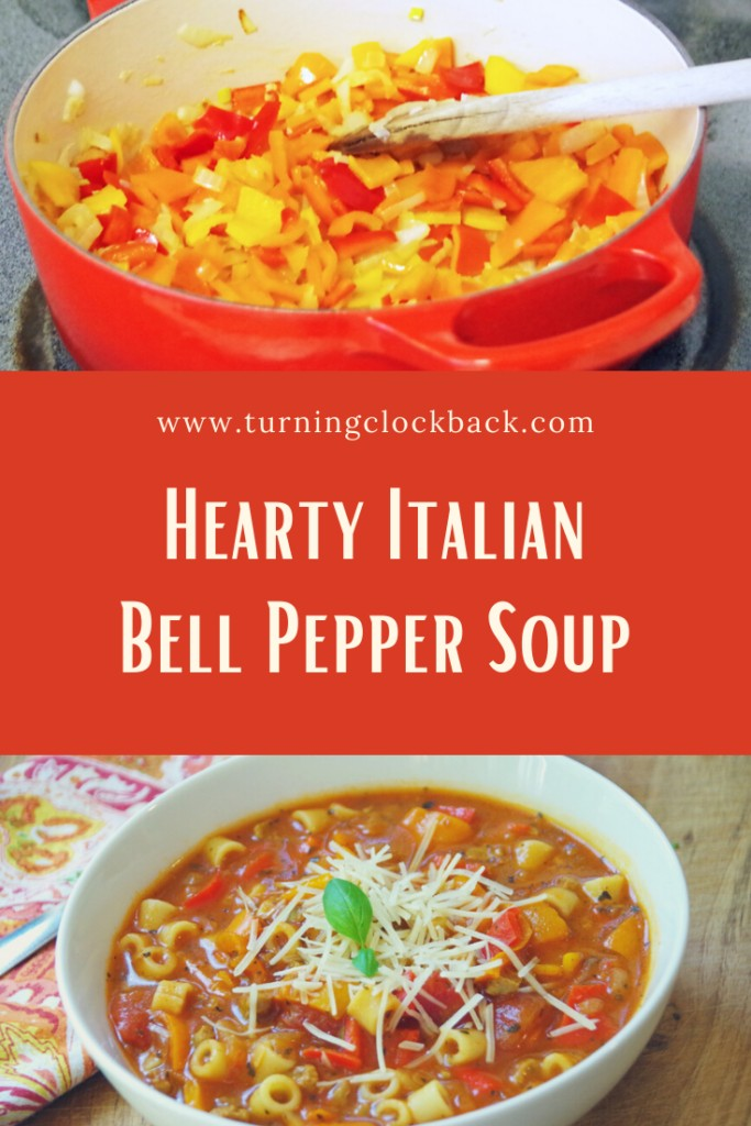 Hearty Italian Bell Pepper Soup Recipe