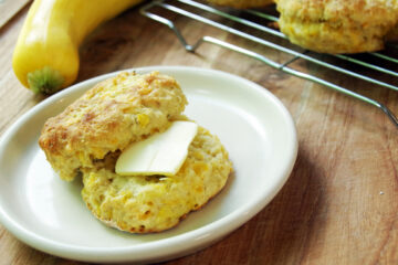 Homemade biscuit recipe using yellow squash