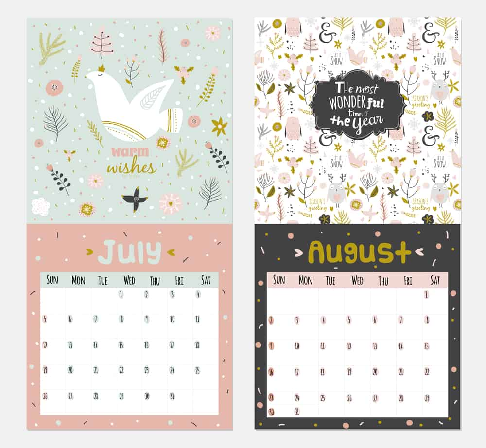 2015 calendars with inspirational and motivational quotes.